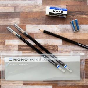 Tombow 蜻蜓牌 Mono Mark Sheet 考試鉛筆套裝