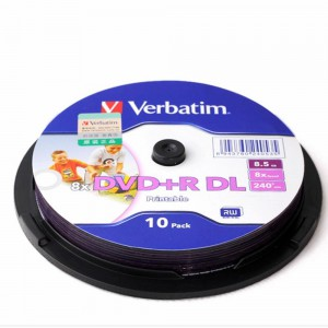 Verbatim 威寶 8.5GB DVD+R DL 可打印