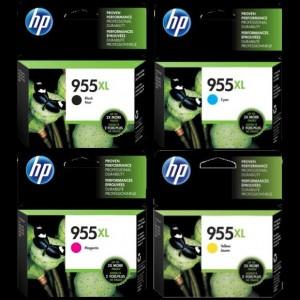 HP 955XL 高打印量原廠墨水盒