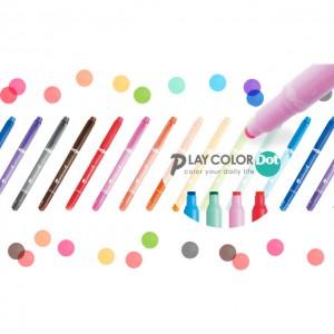 TOMBOW PLAY COLOR DOT雙頭點點彩色水筆