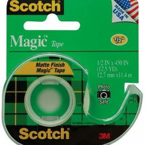 3M Scotch 104 隱形膠紙連座