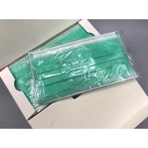 獨立包裝 一次性口罩 綠色