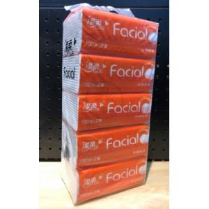 C&S 潔柔 軟包手抽紙巾 5包裝