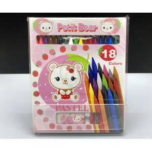 Petit Bear 可擦蠟筆