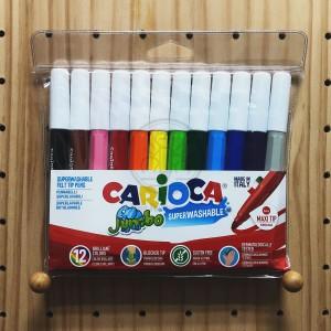 CARIOCA 易清洗水彩色筆 12色