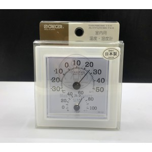 Crecer CR-12W 正方形溫濕度計